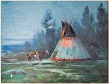 Ace Powell Original Oil on Canvas