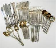 Towle Candlelight Sterling Flatware 66 pcs