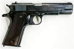 1934 Colt 1911 National Match .45