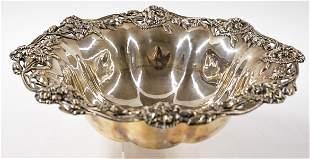 Ferd. Fuchs & Bros. Large Ornate Sterling Bowl