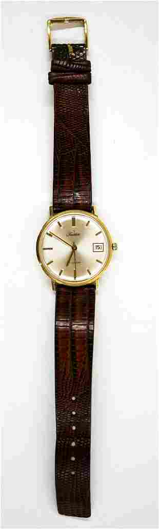 Tradition 14k Gold 17 Jewels Automatic Watch