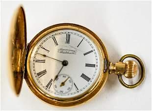 Waltham Ladies 14k Gold Pocket Watch