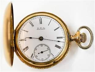 American Waltham 10 Year Case Pocket Watch