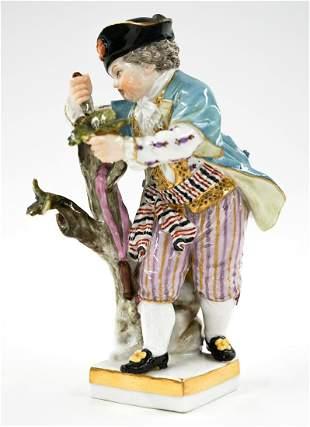 Small Meissen Figure of Boy