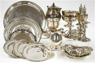 A Group of Sterling Silver Items