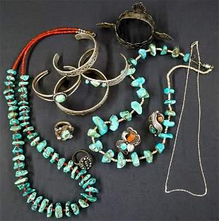 Native American Jewelry, Small Silver Crown