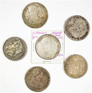 Group of Antique Silver Foreign Coins