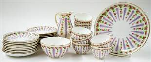 Royal Worcester England (28 Pieces) China