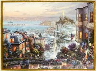 Thomas Kinkade San Francisco, Lombard Street