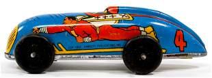 Captain Marvel Vintage Toy Car