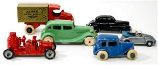 Vintage Small Toy Cars