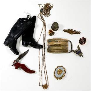 Ladies Knife, Sweetheart Locket and more