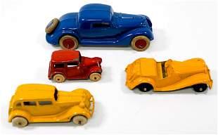 Vintage Small Metal Cars (4)