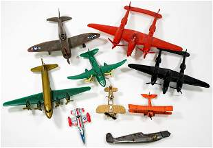 Toy Airplanes (9) and (1) Partial