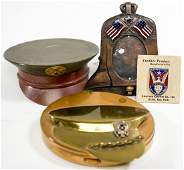 WWII Sweetheart Compacts Pin and Frame 4