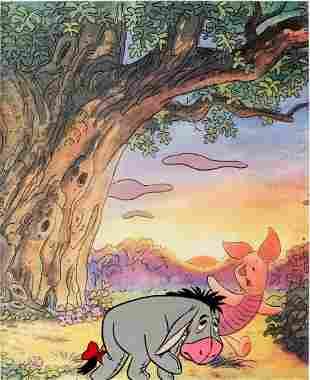 Winnie the Pooh Production Cel Eeyore