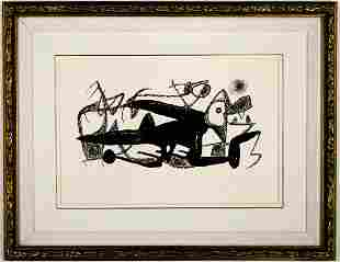 Joan Miro Signed Artist Proof Lithograph