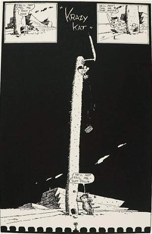 Herriman 'Krazy Kat' Commemorative Lithograph