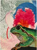 Michael Jay Knigin Lithograph [Frog]