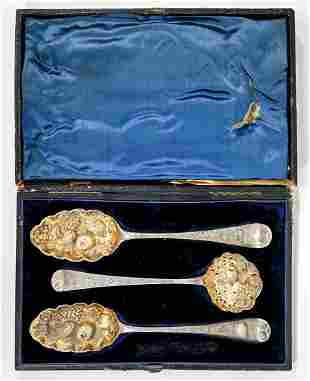 London Sterling Boxed Berry Set