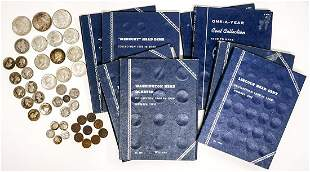 U.S. Coin Collection with Old U.S. Silver Coins