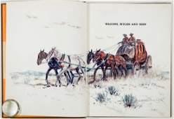 Eggenhofer Book and Original Color Drawing SIGNED