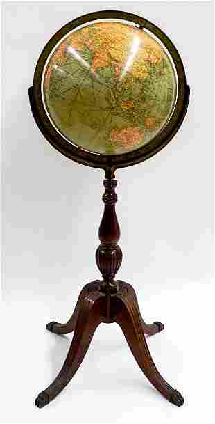 Replogle Library Globe 12 inch with Stand