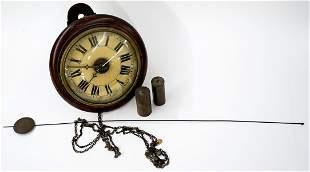 Vintage Pendulum Wall Clock