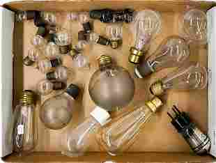 Vintage & Antique (25) Light Bulbs