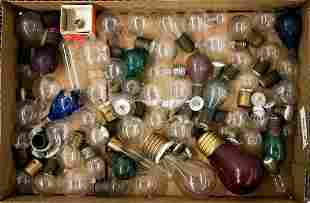 Vintage & Antique (75) Small Light Bulbs