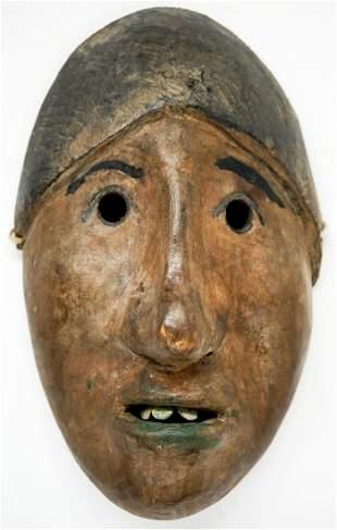 [Alaskan, Inuit] Carved Wood Mask