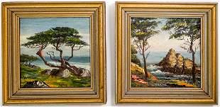 Gladys Marie Baxter Duckworth (2) Seascapes