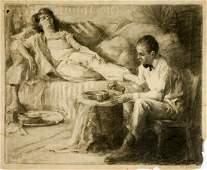 Frank C. Herbst Original Illustration Art
