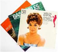 Miles Davis (3) Record LP Albums [Jazz]