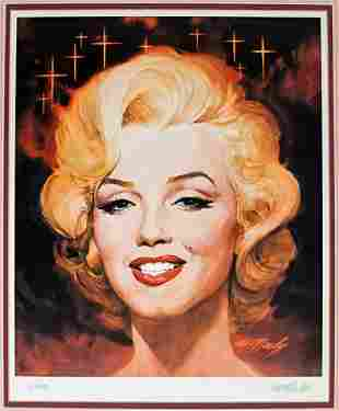 Marilyn Monroe S/N Print by Tom McNeeley