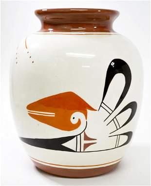 Mavany Native American Pottery Vase