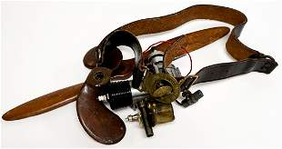 Model Airplane Engine, Propellers, Scout Belt