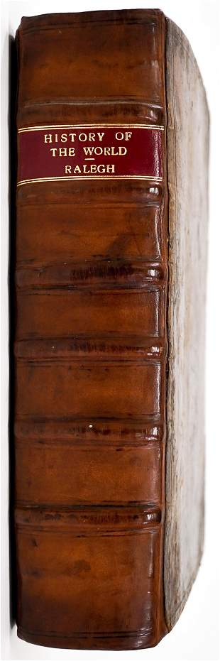 History of the World by Sir Walter Ralegh 1614 1st