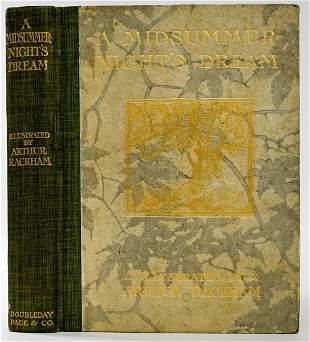 A Midsummer Night's Dream 1908 Arthur Rackham