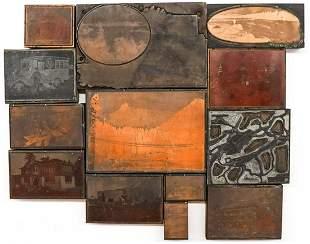 Washington State Antique Printing Blocks (11)