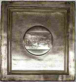 DECLARATION OF INDEPENDENCE Printing Plate