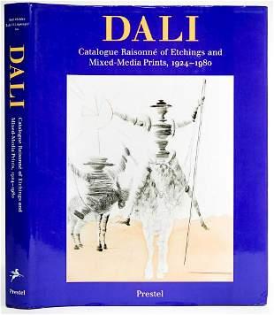 Salvador Dali Catalog of Etchings & Prints
