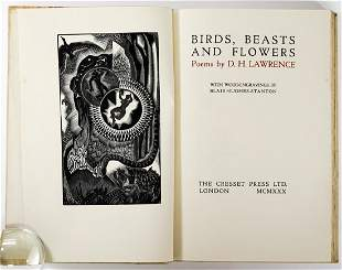 Birds, Beasts and Flowers by Lawrence 1930 LTD