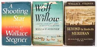 Wallace Stegner (3) Books [Western]