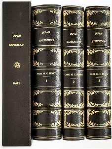 US Japan Expedition 1852, 1853, 1854 (3V & Maps)