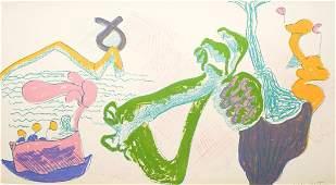 John Altoon Lithograph [Abstract]