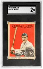 1914 Cracker Jack Joe Jackson #103