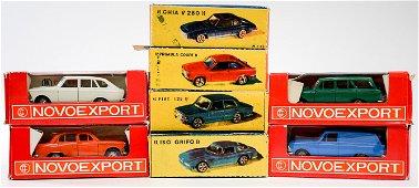 Novoexport and CCCP (8) Model Cars