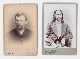 FINE CABINET CARD OF WILD BILL HICKOK BY FORNEY