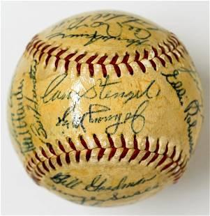 1953 MLB All-Star Game Signed Baseball
